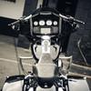Shield Front Crashbar Chrome For Baggers