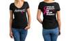 Cancer Awareness Women's V neck