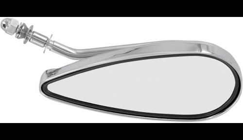 Teardrop Mirror Right Side Chrome