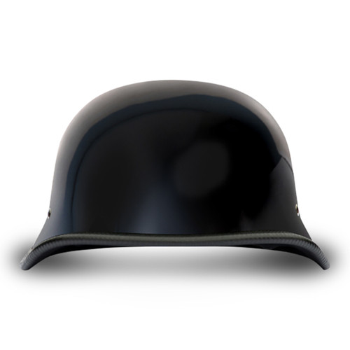 BIG GERMAN- HI-GLOSS BLACK HELMET