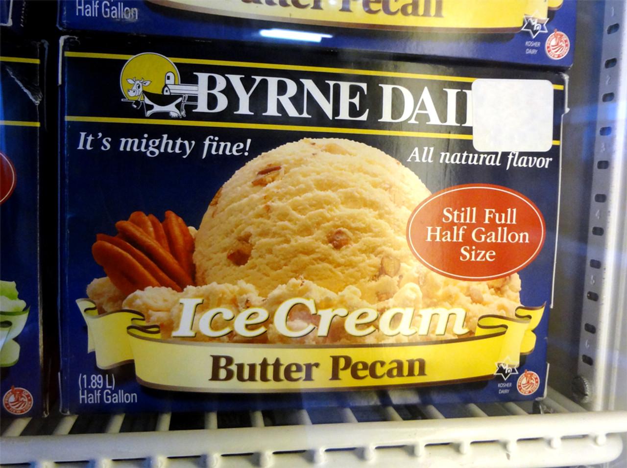 Byrne Dairy Butter Pecan Ice Cream Half Gallon