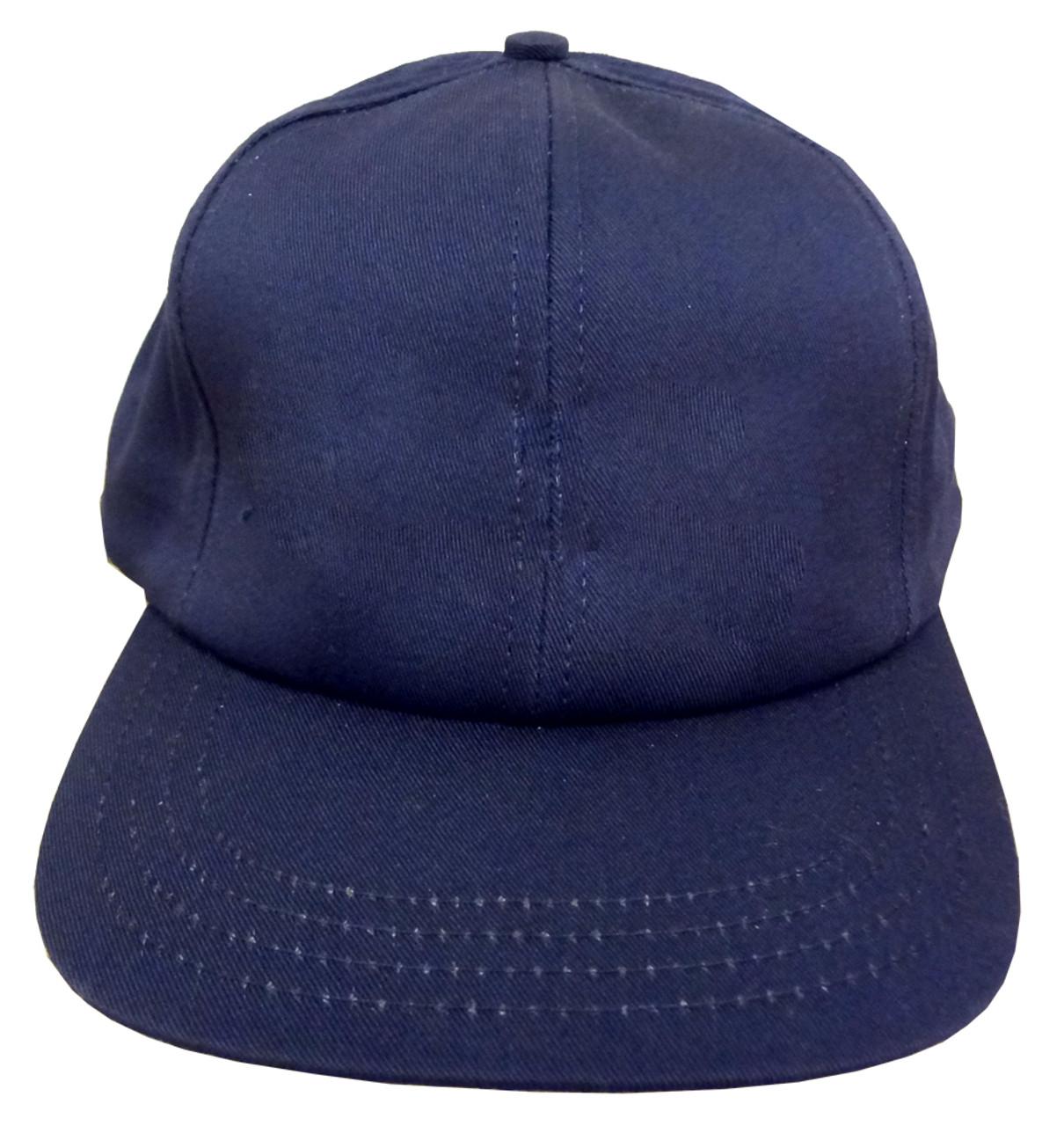 7d90e4b52cf3f6 Plain 6 Panel Unstructured Baseball Cap (Navy)