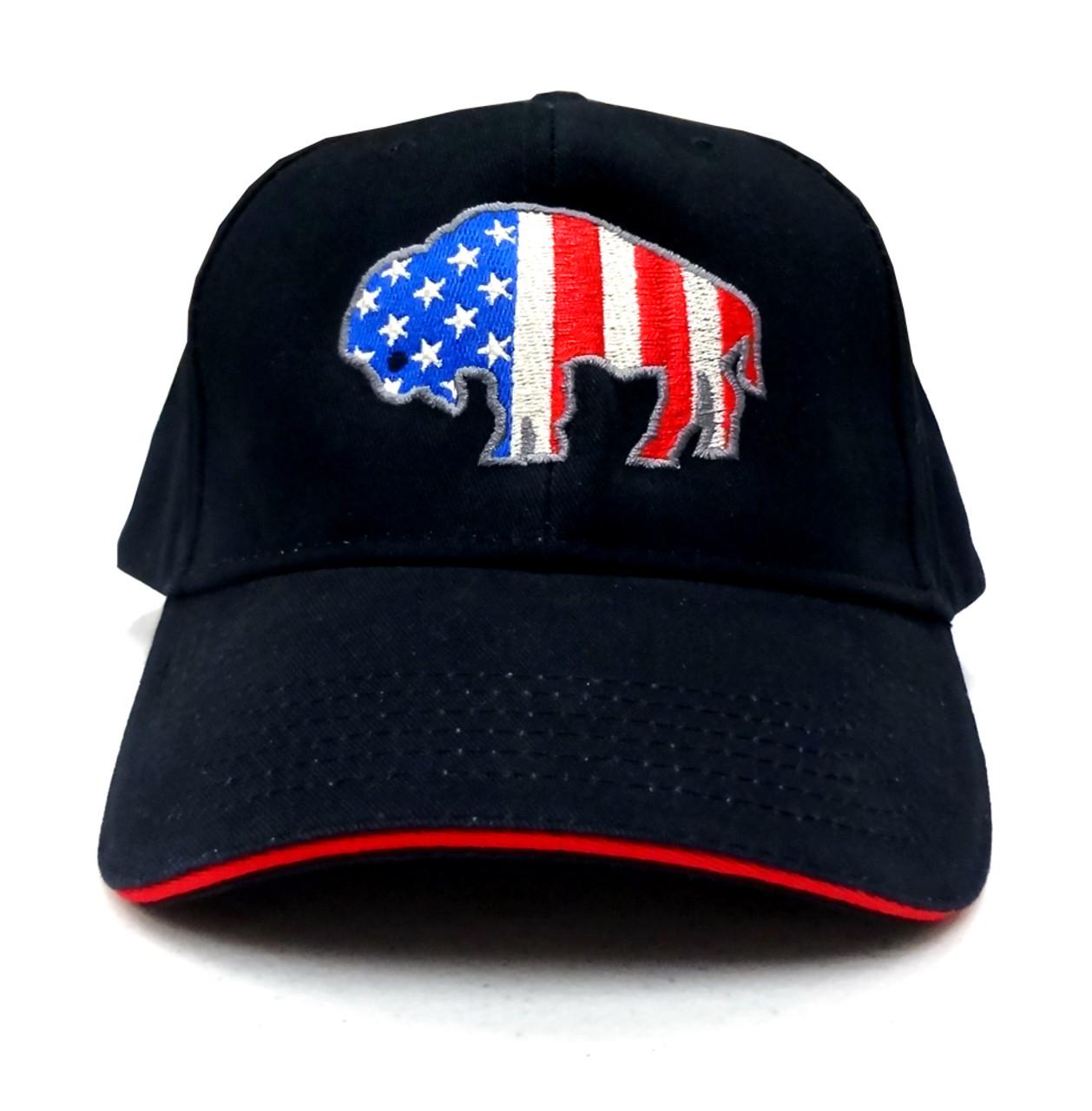 America Buffalo Baseball Cap - Made In America Store 008cfa390f