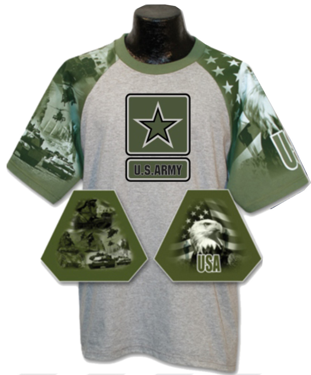 90a14ad7 Everyday Life Military Tee - U.S. Army