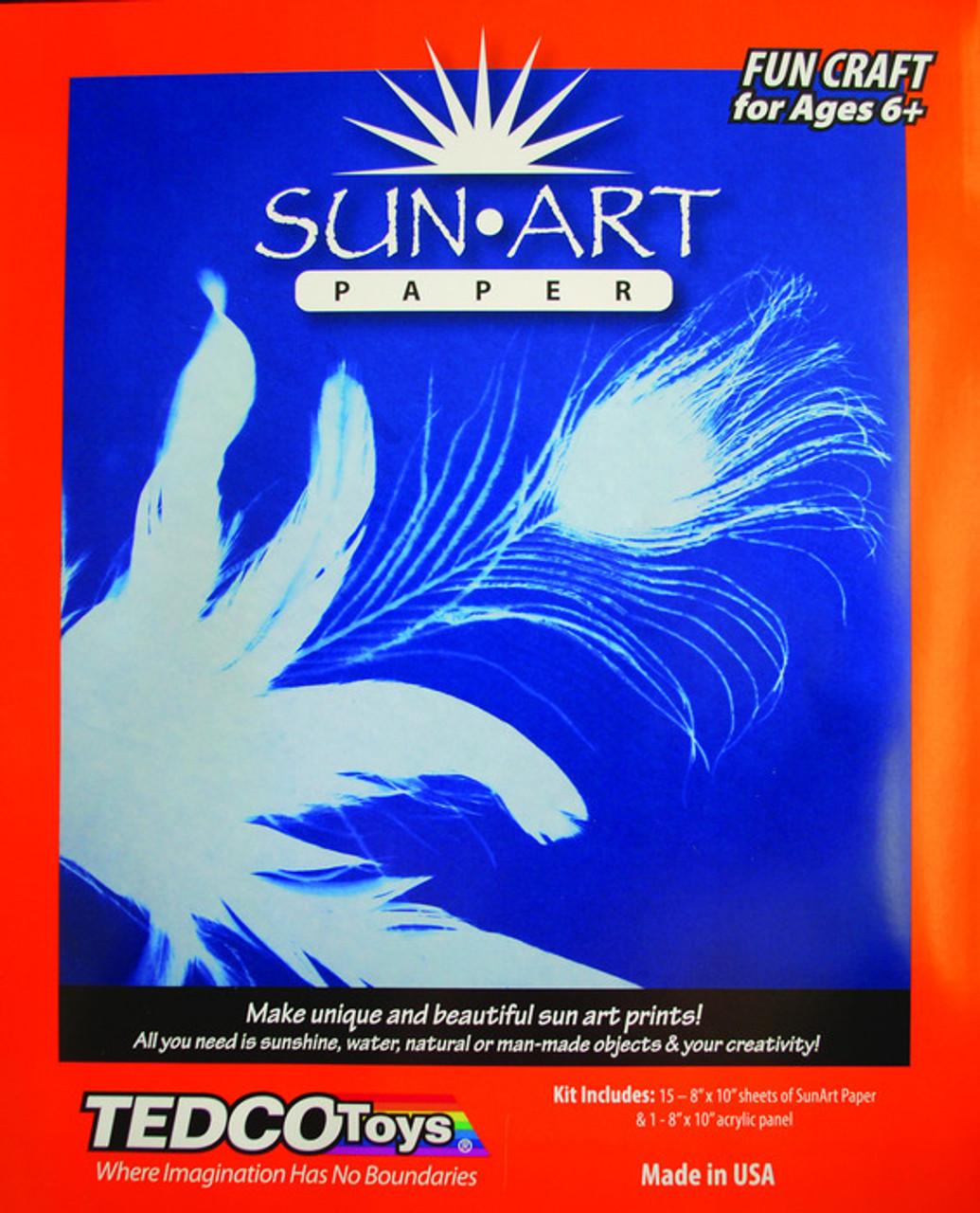 Tedco Sun Art Paper Kit (8