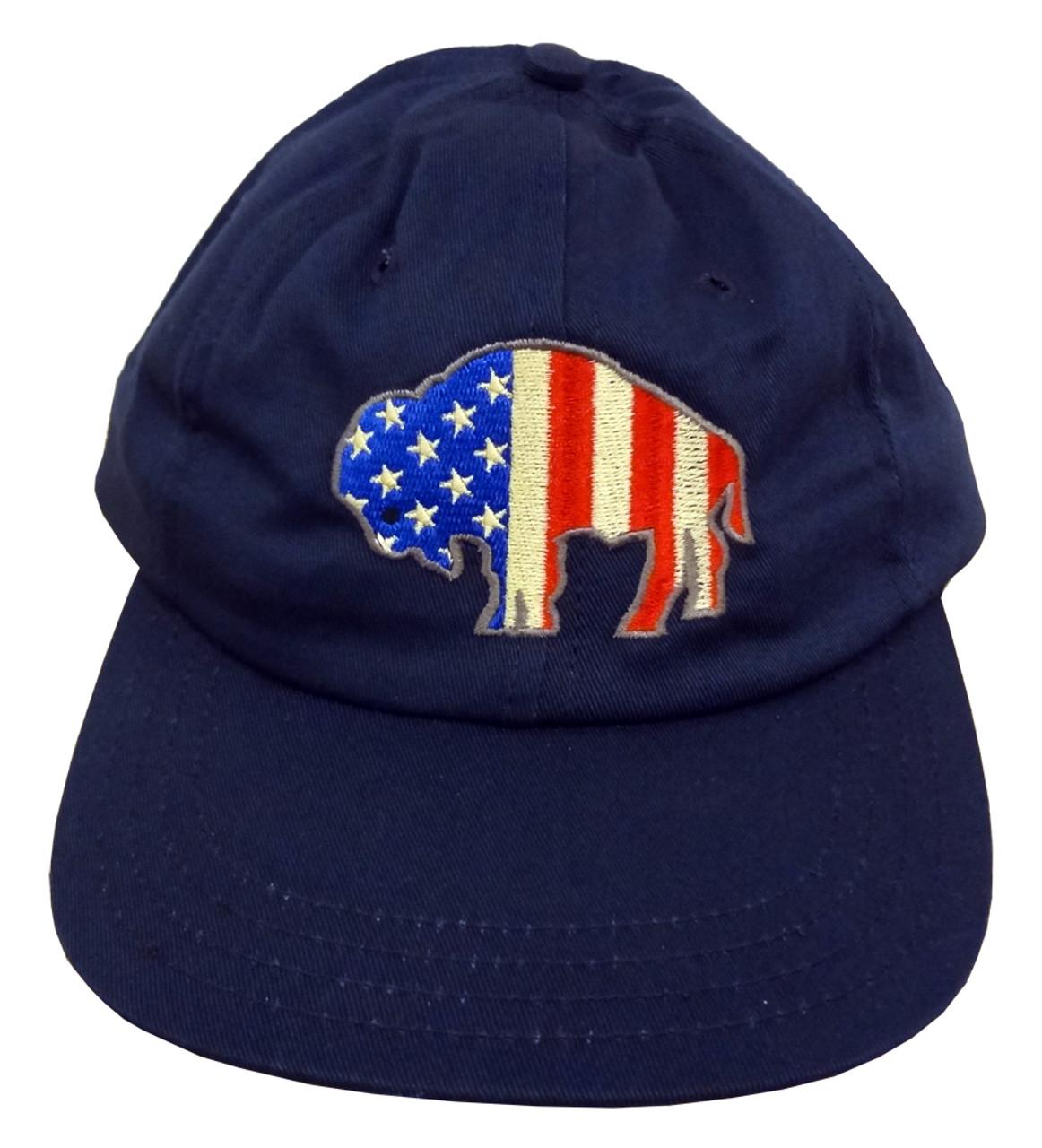 f2b0ac26710523 American Buffalo Unstructured Baseball Cap