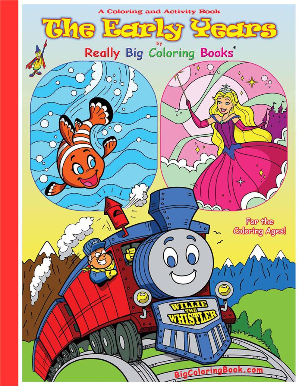 The Early Years Giant Coloring Book