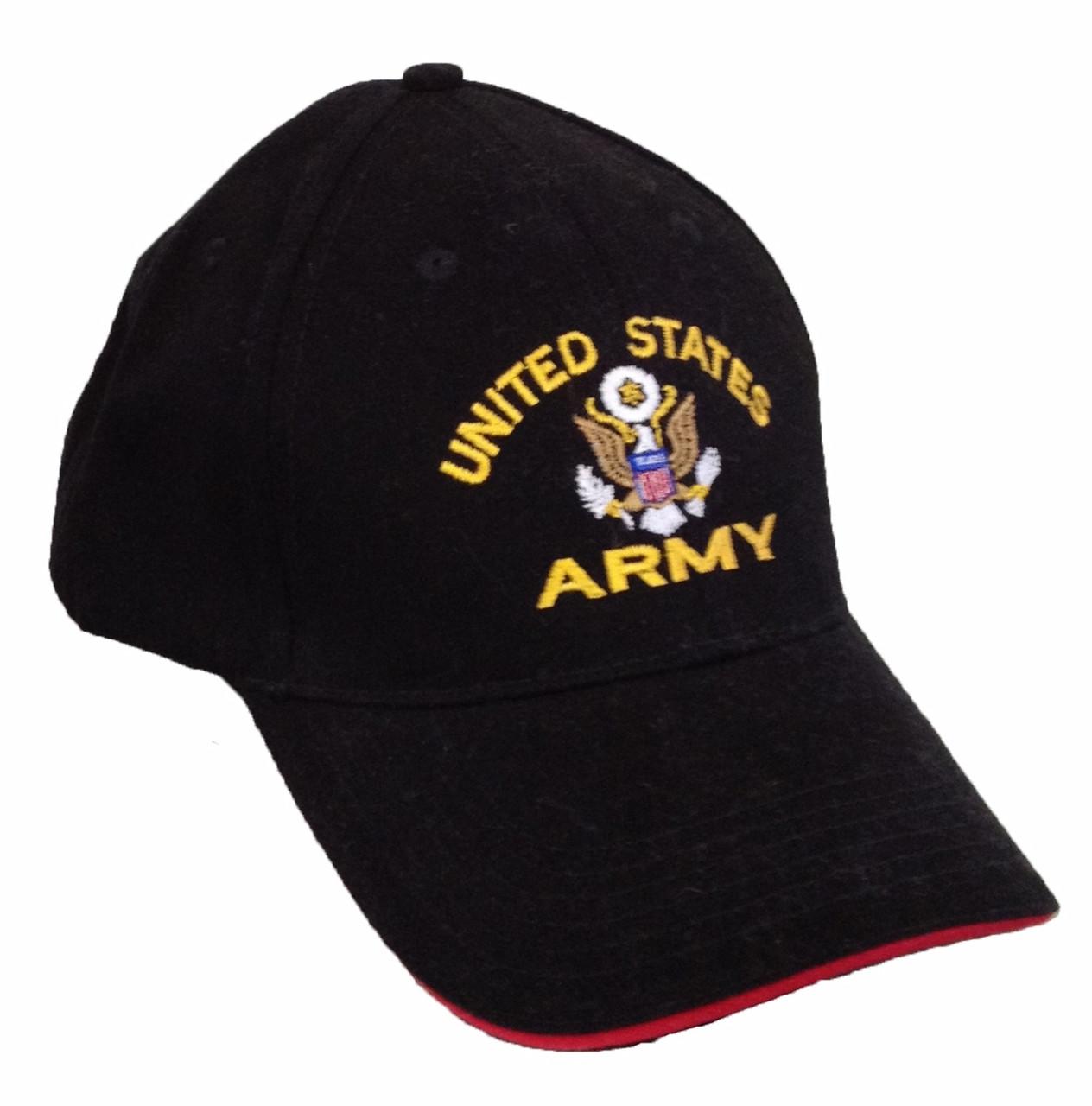 59fff975703142 U.S. Army Military Logo Hat