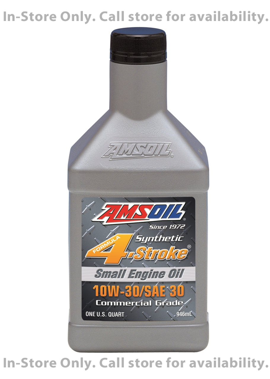 Sae 30 Oil >> Amsoil 10w 30 Sae 30 Synthetic Small Engine Oil