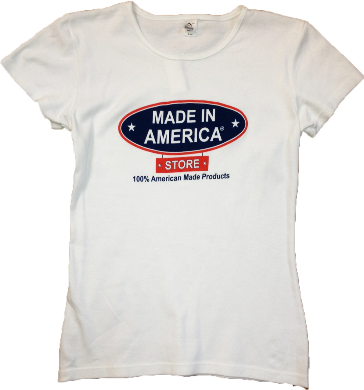 0cd39bc7a Women's Crew Neck Because China Is A Long Drive To Work Made In America  Store Logo