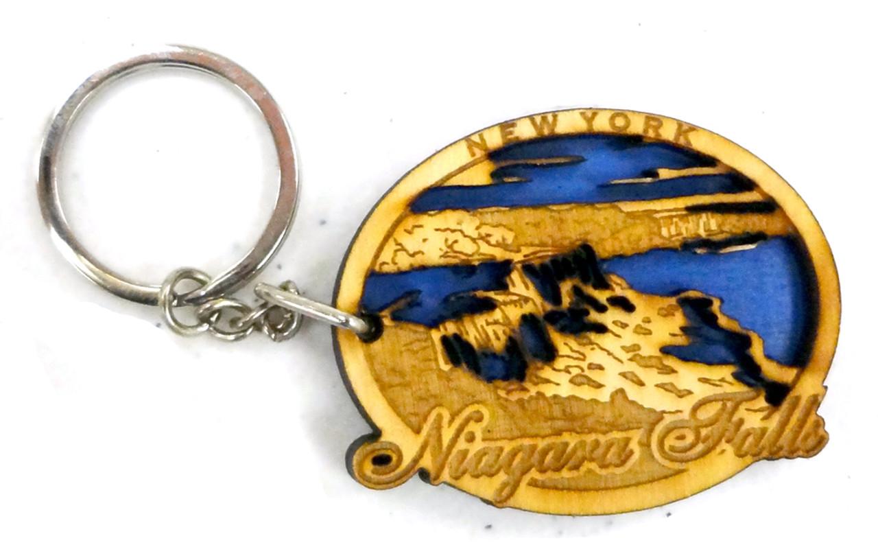 Lasered Niagara Falls Keychain - Made In America Store 7e9567cc7