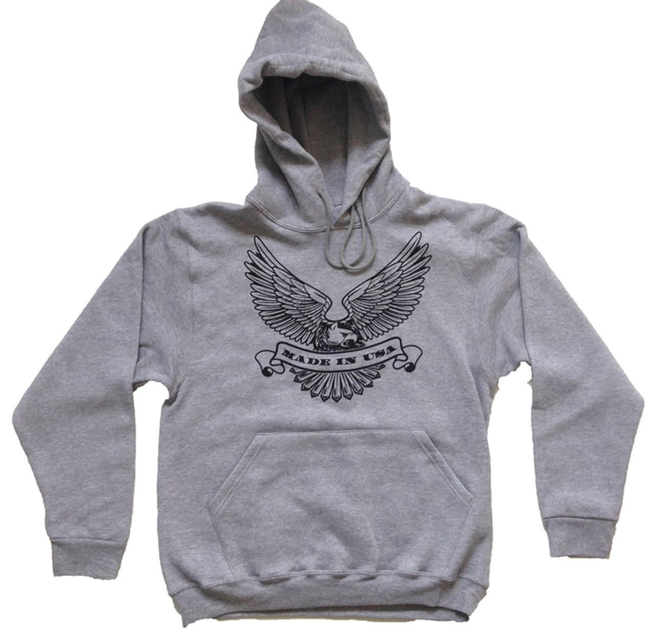 17967817 Made in U.S.A. Eagle Hoodie