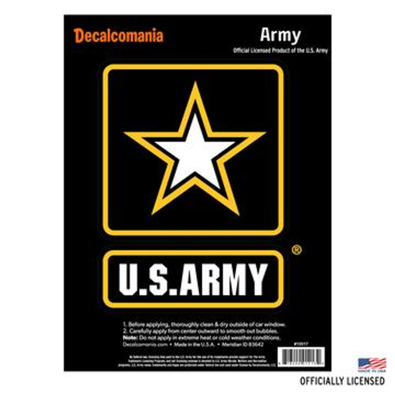 U s army large vinyl decal sticker