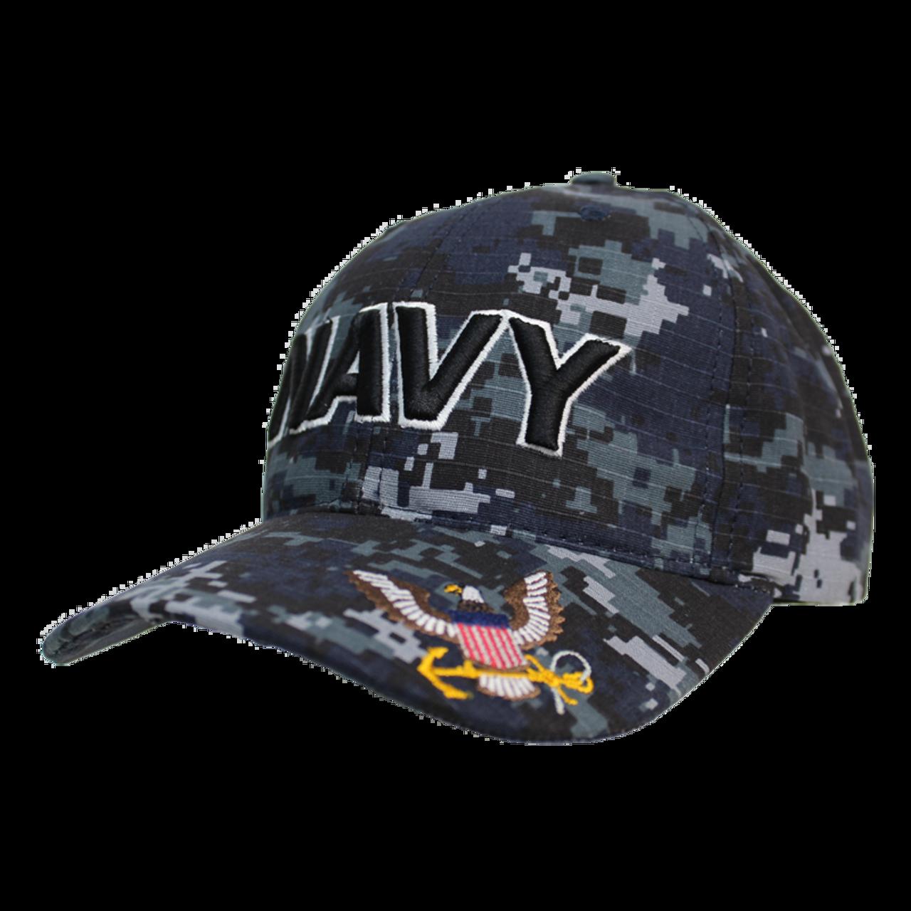 97529e8a73197 Made In U.S.A. Navy Digital Camo Hat