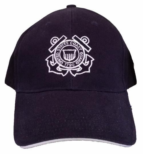 d23466096eb6df U.S. Coast Guard Military Logo Hat