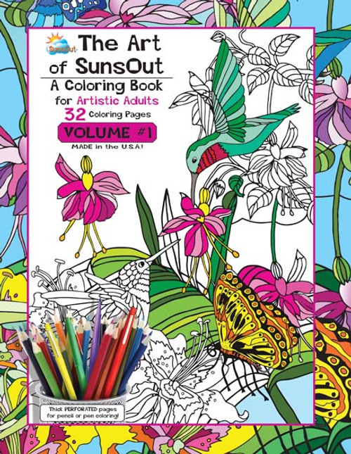 Coloring Books- Adult Volume 1 - Made In America Store