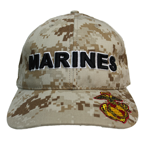 Made In U S A  Marine Corps Digital Camo Hat