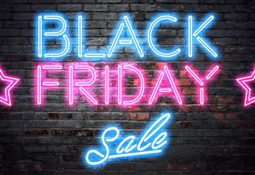 Black Friday Sale + Free Shipping!