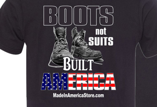 """New """"Boots Not Suits Built America"""" Tees Now In-Stock"""