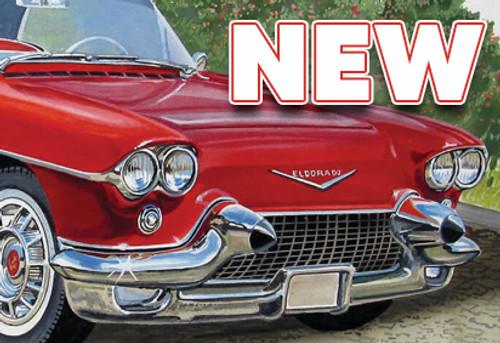 1957 Cadillac Eldorado Model Kit Is Here!