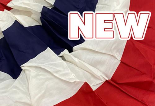 New - Pleated Stripe Fan Flags!