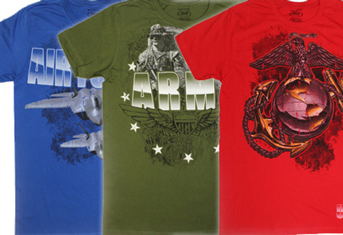 New Military Tees Are In!