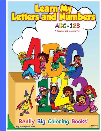 ABC-123 Giant Coloring Book - Made In America Store