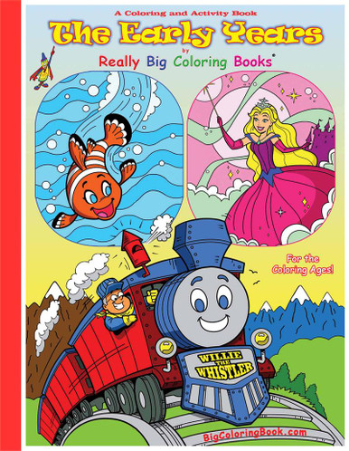 The Early Years Giant Coloring Book - Made In America Store