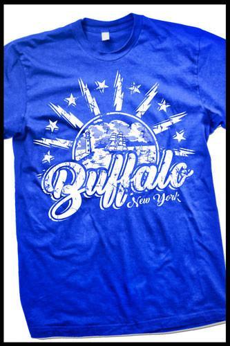 3742853c4 City Flag Buffalo Tee