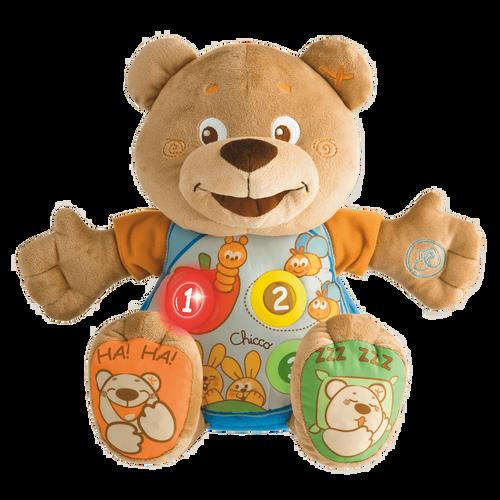 Talking Bilingual Teddy - Italian/English