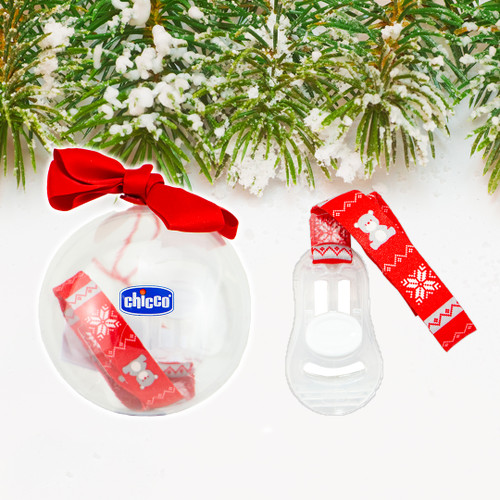 Christmas Soother Clip 1pk