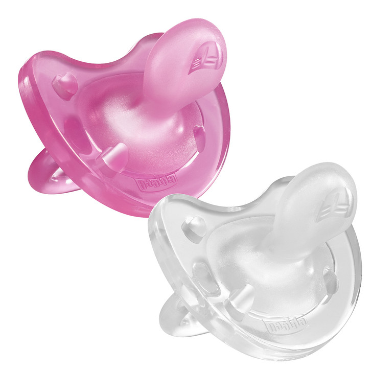 Physio Soft Soother 0-6m 2pk - Girl