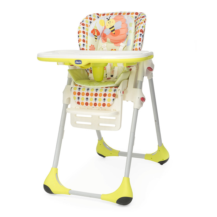 Polly Double Phase Highchair - Sunny