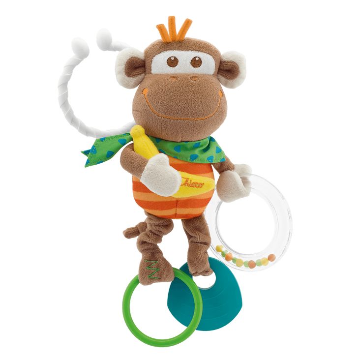 Multi Activity Vibrating Monkey Rattle