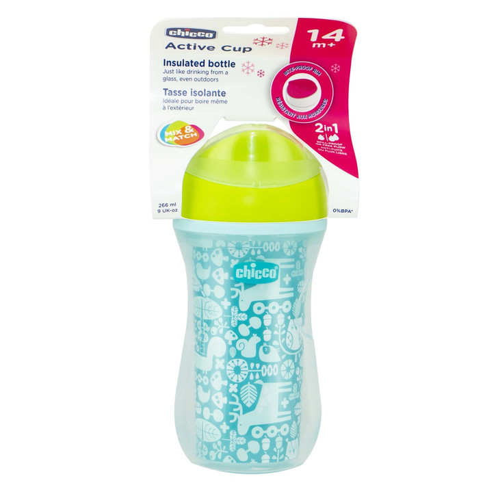 Insulated Cup Blue 14m+