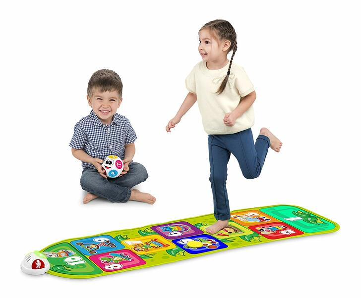 Jump & Fit Playmat Hopscotch