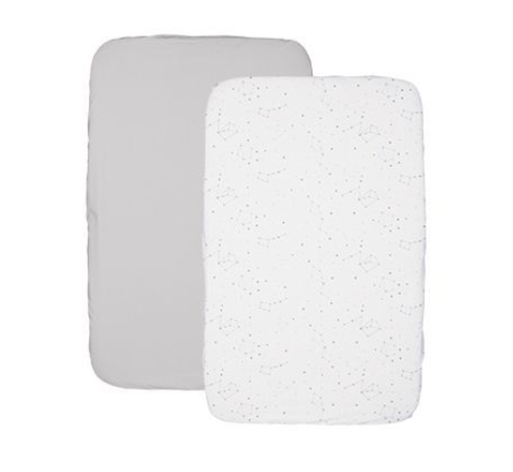 Next2Me Fitted Sheet Zodiac 2pc