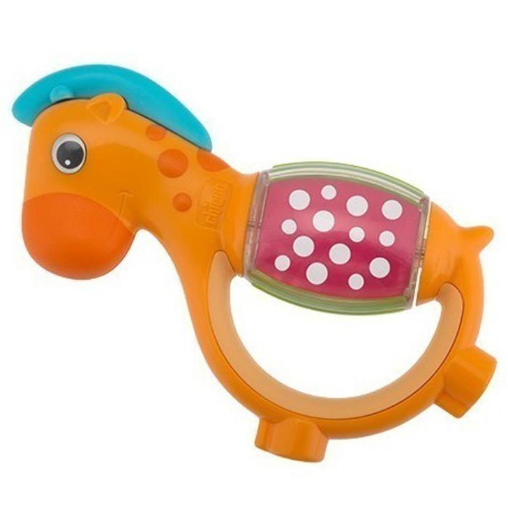 Polka Dot Giraffe Rattle