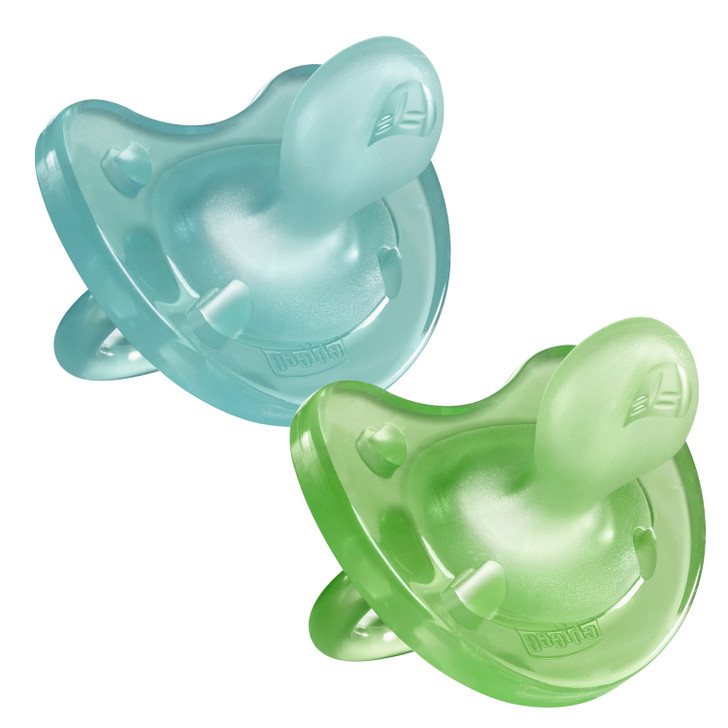 Physio Soft 16-36m Boy 2pk Soothers