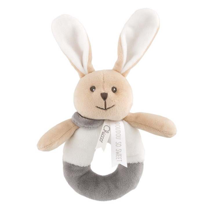 My Sweet Dou Dou Bunny Rattle