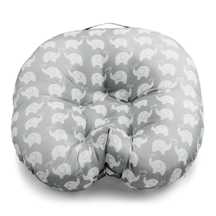 Boppy Hug & Nest Pillow - Grey Elephant