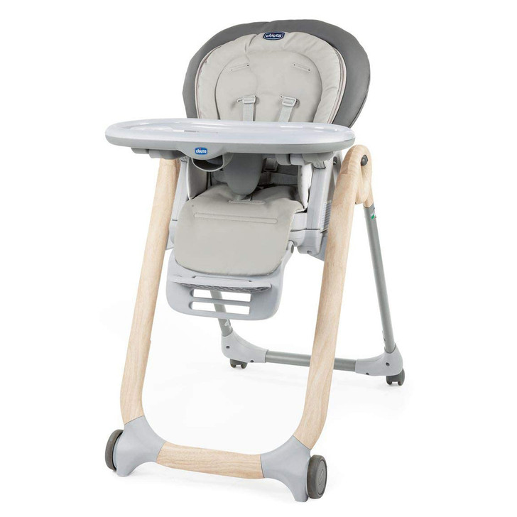 Polly Progres5 Highchair - Scandinavian Wood [Special Edition]