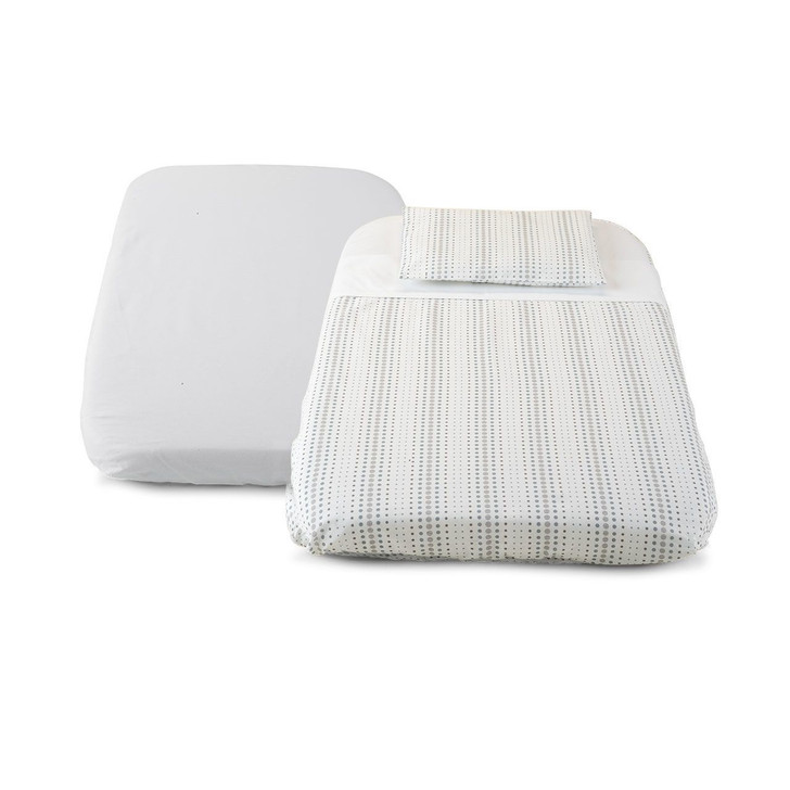 Next2Me Fitted/Flat Sheet Set Air 3pc
