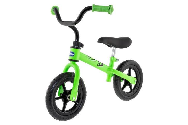 Green Rocket Balance Bike