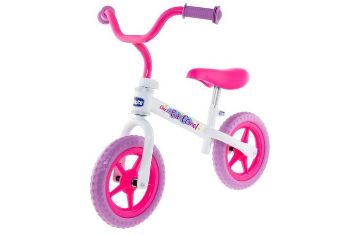 Pink Comet Balance Bike