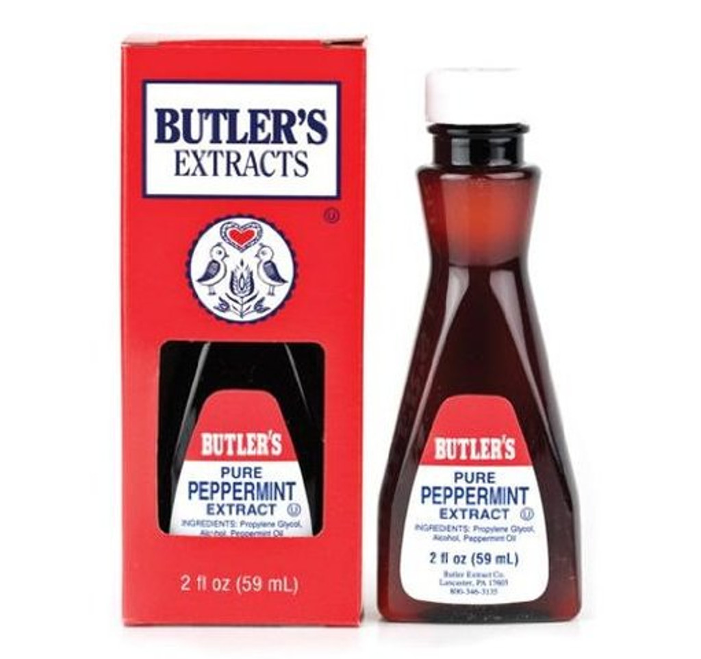 Pure Peppermint Extract - 2 Oz