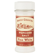Fine White Popcorn Salt - 6 Oz