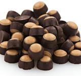 Mini Dark Chocolate Peanut Butter Buckeyes