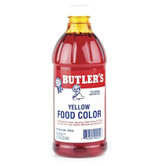 Butler's Yellow Food Coloring - 16 Oz Bottle