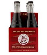 Boylan Cane Sugar Soda (Creamy Red Birch Beer) 6/4 packs